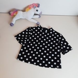 Retro Mod Polka Dot Shirt